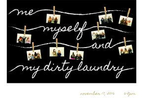 Me Myself and My Dirty Laundry