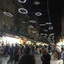 night time market in Yafoi