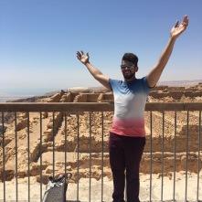 atop Negev Desert ruins